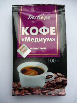 Кофе молотый Медиум